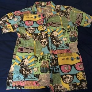 Comic printed shirt